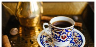 Cup of Moroccan Spiced Coffee