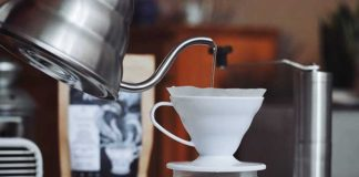 coffee at home pour over