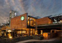 The New Starbucks Dewata Coffee Sanctuary in Bali, Indonesia