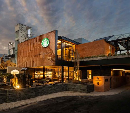 The New Starbucks Dewata Coffee Sanctuary in Bali, Indonesia