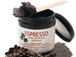 Espresso Luxury Face and Body Scrub-Mask