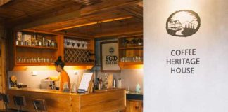 The newly opened Coffee Heritage House in Sagada Mountain Province Philippines