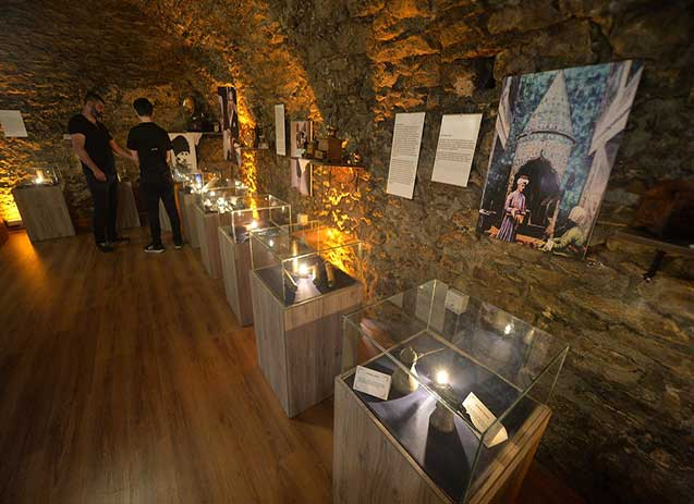 Inside the Turkish Coffee Museum