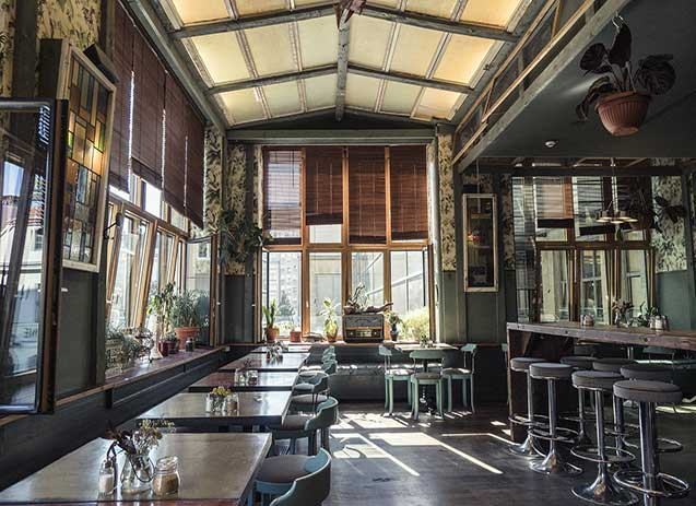 Inside House of Small Wonder, Berlin