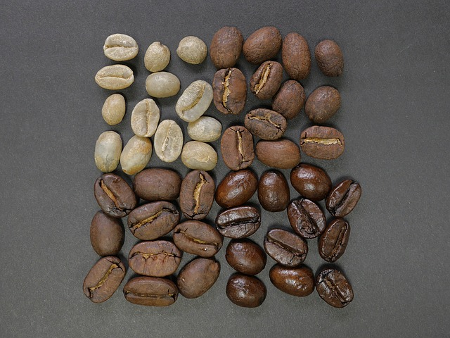 four types of coffee beans