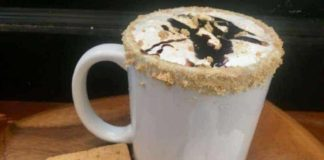 Fall Smores Latte Recipe Weekend Coffee Treat