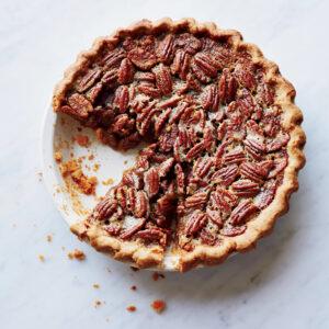 Thanksgiving Bourbon-Pecan Pie