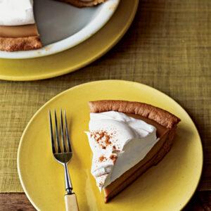 Thanksgiving Butterscotch Mousse Pie