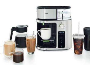 Multifunctions-Braun-Coffee-Maker