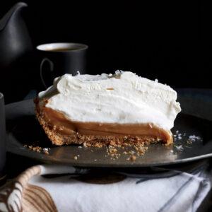 Thanksgiving Salted Caramel Pie