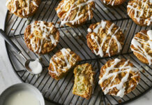 Zucchini Muffins with Coconut-Cashew Streusel