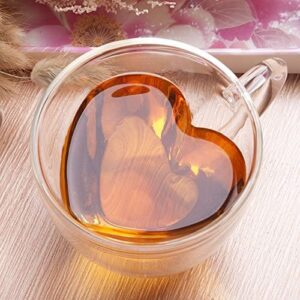Heart shaped coffee cup