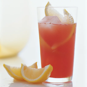 non-alcoholic Strawberry Lemonade drink