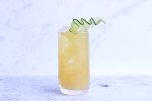 cucumber mint mocktail