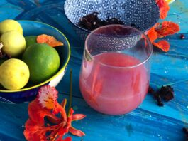 non-alcoholic mocktail drink