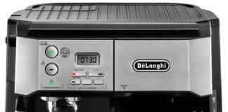 DeLonghi BCO430 Combination Pump Espresso and 10-Cup Drip Coffee Machine