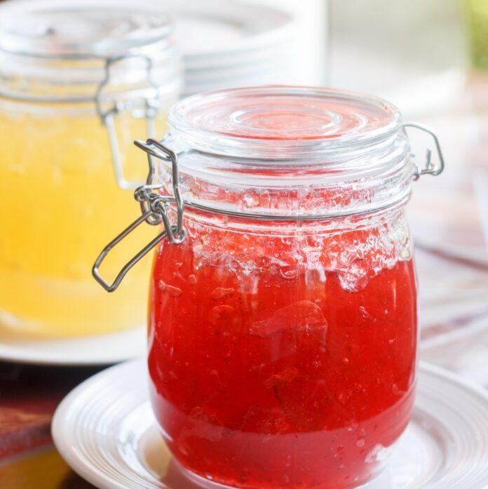 Jars full of jelly